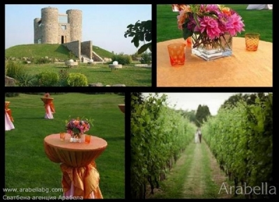 wedding in Chateau Copsa