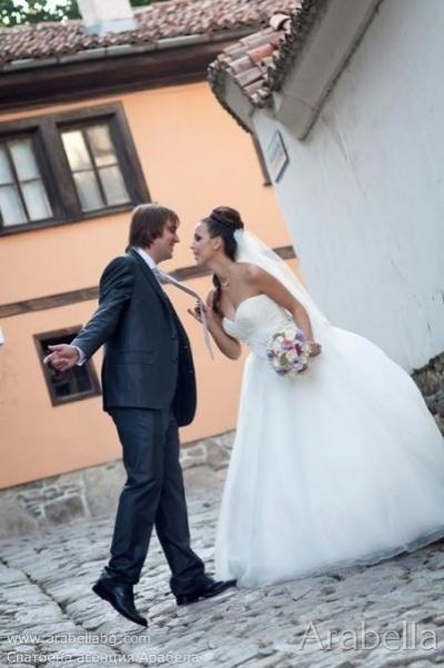 Сватба в Нежно розово и лилаво - Лайпциг