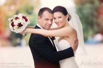Сватба в цвят на вино и рози - Парк Хотел Санкт Петербург