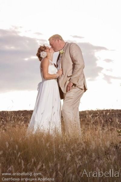 Българо - английска сватба в рустик стил