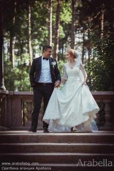 Сватба в златно и орхидеи - хотел Камена, Велинград