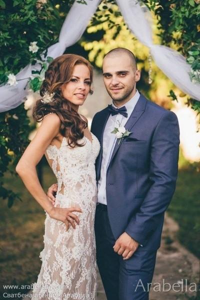 """Градинска сватба в комплекс """"Мавруда"""" в прасковено"""