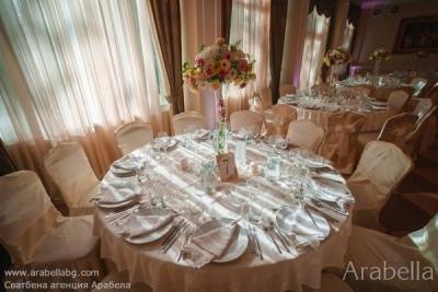 Сватба в розово в Резиденция Тера