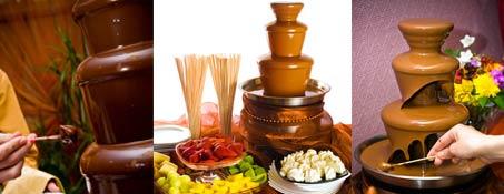 Шоколадов фонтан за Вашата сватба – Безплатно !
